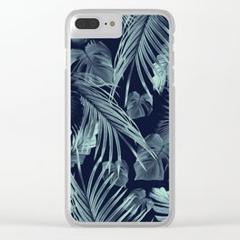 Tropical Jungle Leaves Dream #9 #tropical #decor #art #society6 Clear iPhone Case