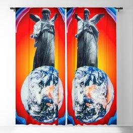 Heavenly appearance- Angel Blackout Curtain