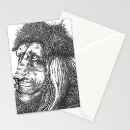 Smiling Lion Stationery Cards