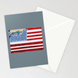 The Heroism in soft eyes grew again Stationery Cards