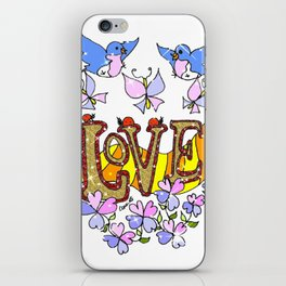 """Love"" iPhone Skin"