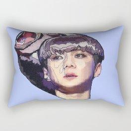 Pixelated glitch Rectangular Pillow