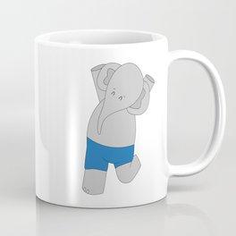 Elphie and dad go on an epic adventure Coffee Mug