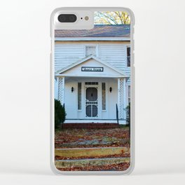 The Vance House Clear iPhone Case