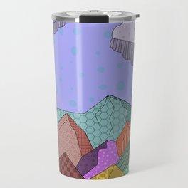Pattern Landscape Travel Mug