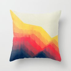 Sounds Of Distance Throw Pillow