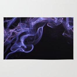 veil of smoke Rug