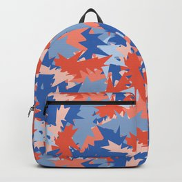 Memphis Style Abstract Geometric Texture Seamless Pattern Backpack