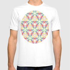 colours Mens Fitted Tee White MEDIUM