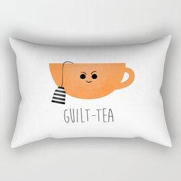 Guilt-tea Rectangular Pillow