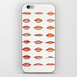 Lips II iPhone Skin