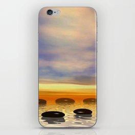 Zen Steine iPhone Skin