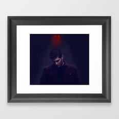 D - Mark of Cain Framed Art Print