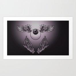 Heavenly Eyeball Art Print