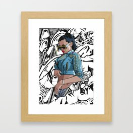 The Fashion One Framed Art Print