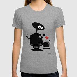 Robot Heart to Heart T-shirt