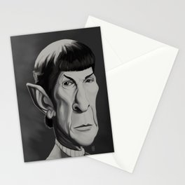 Spock - Caricature Stationery Cards