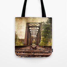 Railroad Bridge 2 Tote Bag
