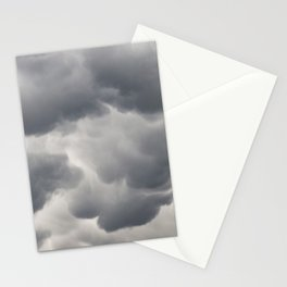 Mammatus Clouds 3 Stationery Cards