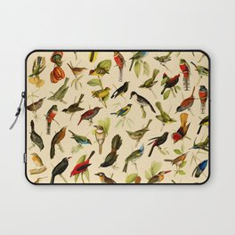 Vintage Birds of Brazil Designs Collection Laptop Sleeve