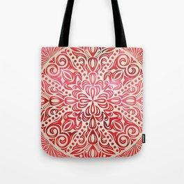 mandala7 Watercolor Mandala Tote Bag