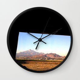 Age of Rock Wall Clock