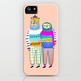 Cute Couple. iPhone Case