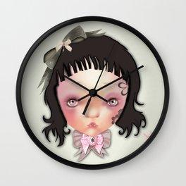 ppinkydolls art print Wall Clock