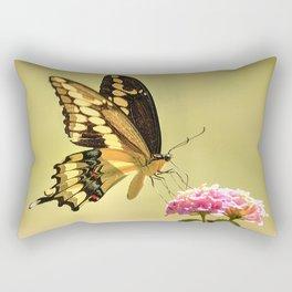 Giant Swallowtail Rectangular Pillow
