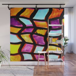 """Folds"" Wall Mural"