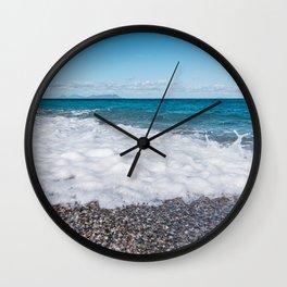 Sicilian warmth Wall Clock