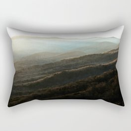 North Georgia Mountains 4 Rectangular Pillow