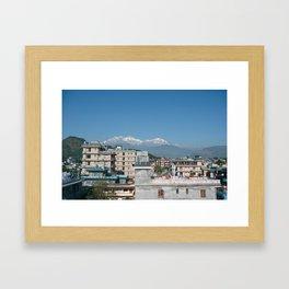 Pokhara Framed Art Print