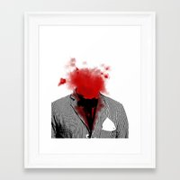 danny ivan Framed Art Prints featuring Danny by NicholasB