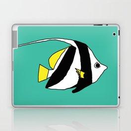 Schooling Bannerfish natural colors Laptop & iPad Skin