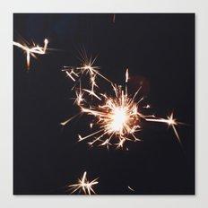 Spark Canvas Print