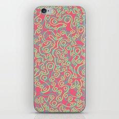Neon Bubbles iPhone & iPod Skin