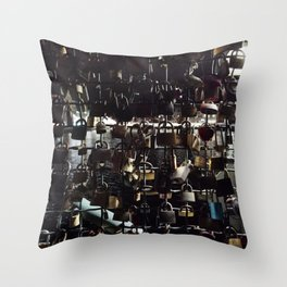 Castle of Emotions Throw Pillow