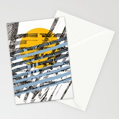 - blue or not - Stationery Cards
