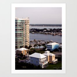 Orange Beach, Alabama Art Print