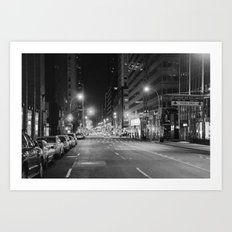 Madison Ave. 12:30am Art Print