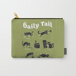 The Daily Tail Cat Carry-All Pouch