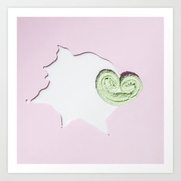Aliens' sweets Art Print