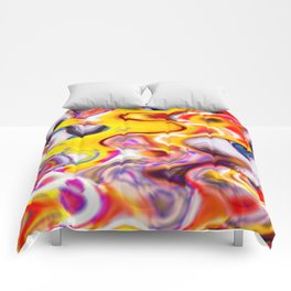 Psychedelic Swirls Comforters