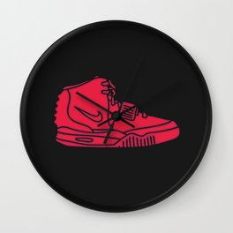 Red October Wall Clock