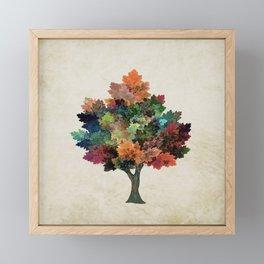 Fall is Back! Framed Mini Art Print