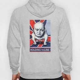 Winston Churchill -- Holding The Line Hoody