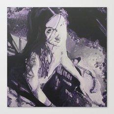 Purple Ling Canvas Print
