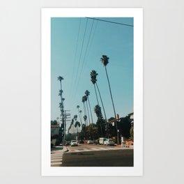Los Feliz, Los Angeles Art Print