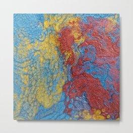 Colored Cube #1 C Metal Print